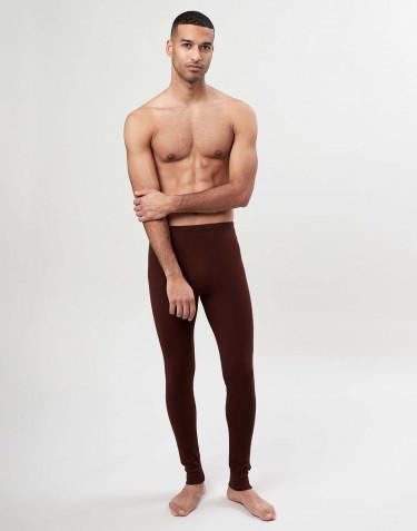 Lange Herren Unterhosen mit Eingriff aus Merinowolle