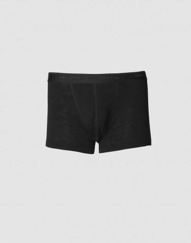 Diling große Größen: Merino Boxershorts schwarz