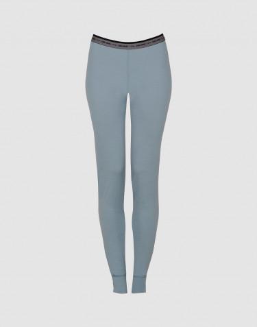 Leggings für Damen - exklusive Merinowolle mineralblau
