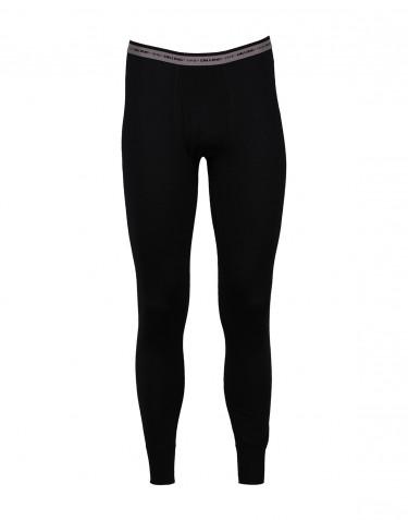 Leggings mit Eingriff - exklusive Merinowolle schwarz