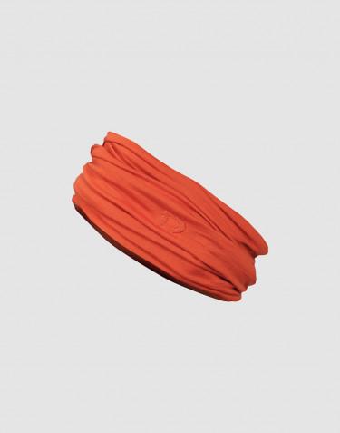 Schlauchschal für Damen exklusive Merinowolle Orange
