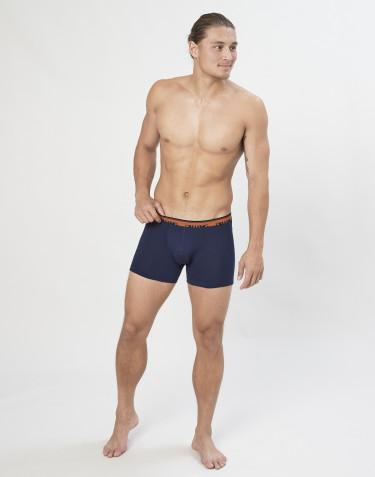 Boxershorts aus exklusiver Bio Merinowolle Navy