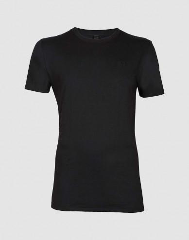 Baumwoll T-Shirt für Herren schwarz