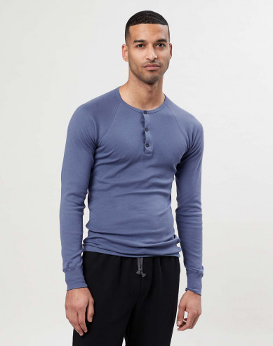 Herren Langarmshirt aus Premium Baumwolle