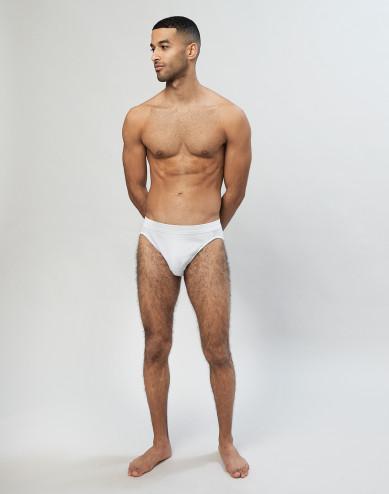 Herren Sportslip aus Baumwolle Weiß