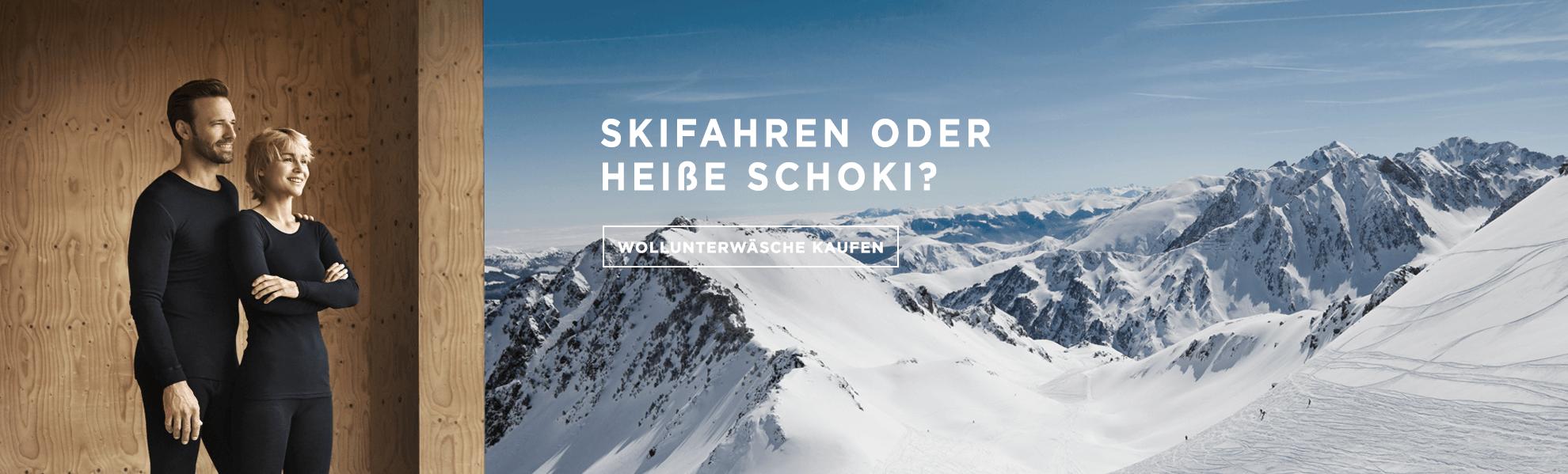 Ski banner